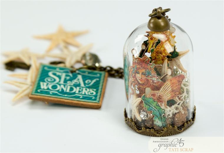 Tati,Magic of the Sea in a Glass Dome, Voyage Beneath the Sea, product by Graphic 45, Photo 7