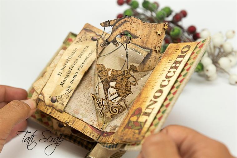 Tati, Pinocchio Pup_up Mini Album, Photo 18