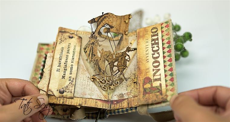 Tati, Pinocchio Pup_up Mini Album, Photo 19