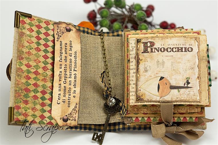 Tati, Pinocchio Pup_up Mini Album, Photo 9