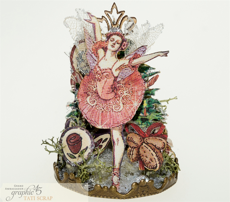 Tati, Nutcracker Sweet, Glass Dome, Product by Graphic 45, Photo 5,1
