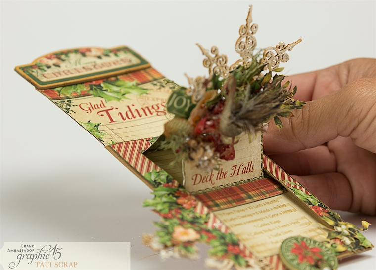 Tati, The Twelve Days of Christmas, Card, Product by Graphic 45, Photo 10