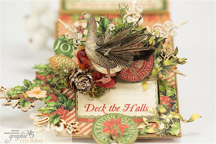 Tati, The Twelve Days of Christmas, Card, Product by Graphic 45, Photo 4