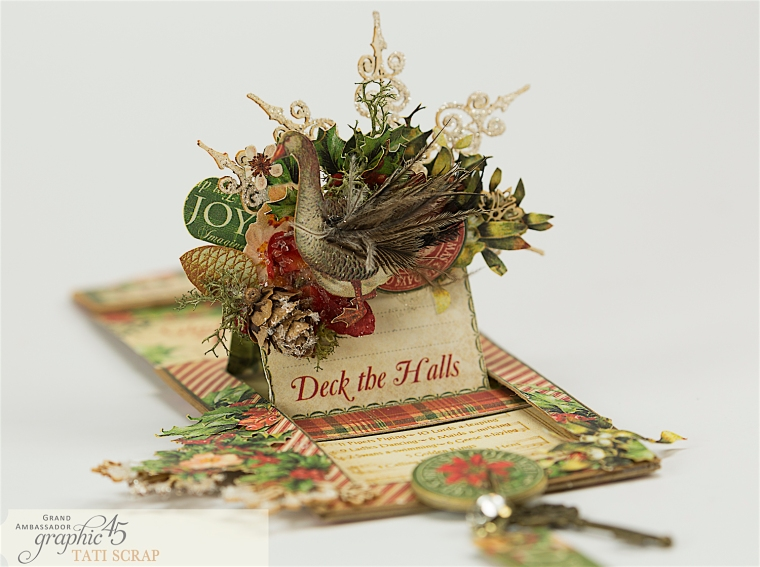 Tati, The Twelve Days of Christmas, Card, Product by Graphic 45, Photo 7