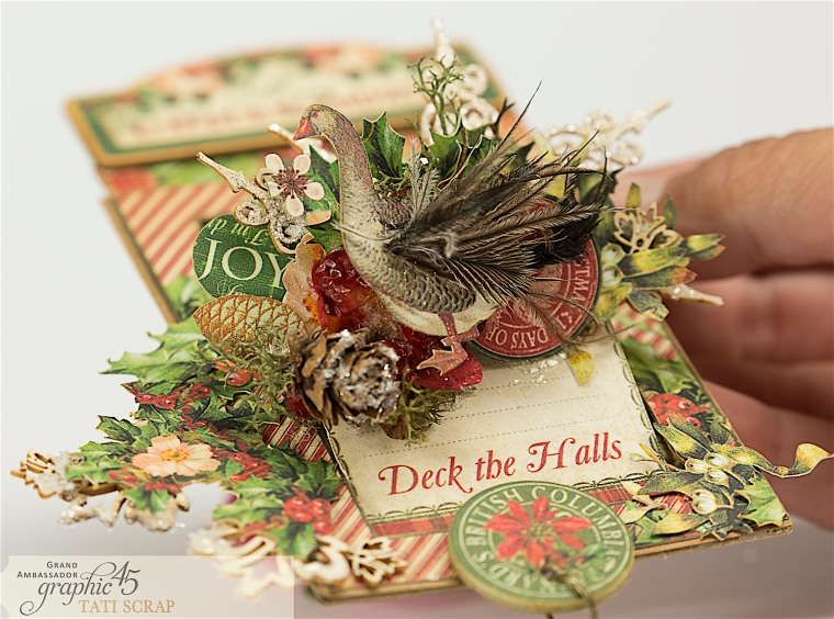 Tati, The Twelve Days of Christmas, Card, Product by Graphic 45, Photo 9