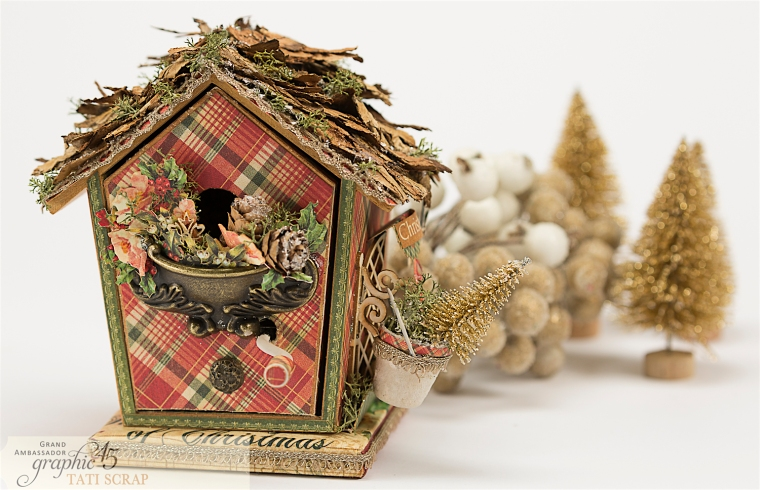 Tati, Music Bird House, Twelve Days of Christmas, Product by Graphic 45, Photo 1