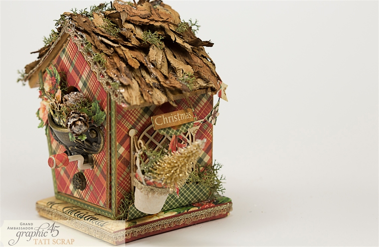 Tati, Music Bird House, Twelve Days of Christmas, Product by Graphic 45, Photo 10