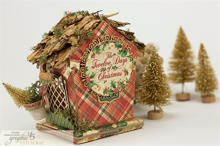 Tati, Music Bird House, Twelve Days of Christmas, Product by Graphic 45, Photo 11