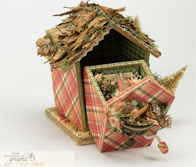 Tati, Music Bird House, Twelve Days of Christmas, Product by Graphic 45, Photo 13