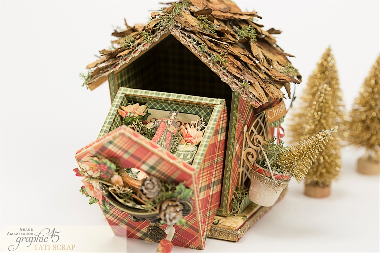 Tati, Music Bird House, Twelve Days of Christmas, Product by Graphic 45, Photo 14