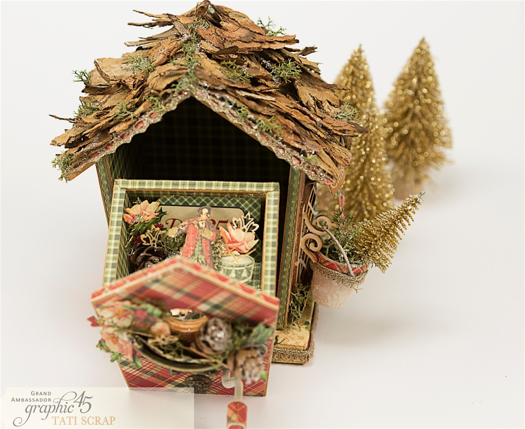 Tati, Music Bird House, Twelve Days of Christmas, Product by Graphic 45, Photo 15