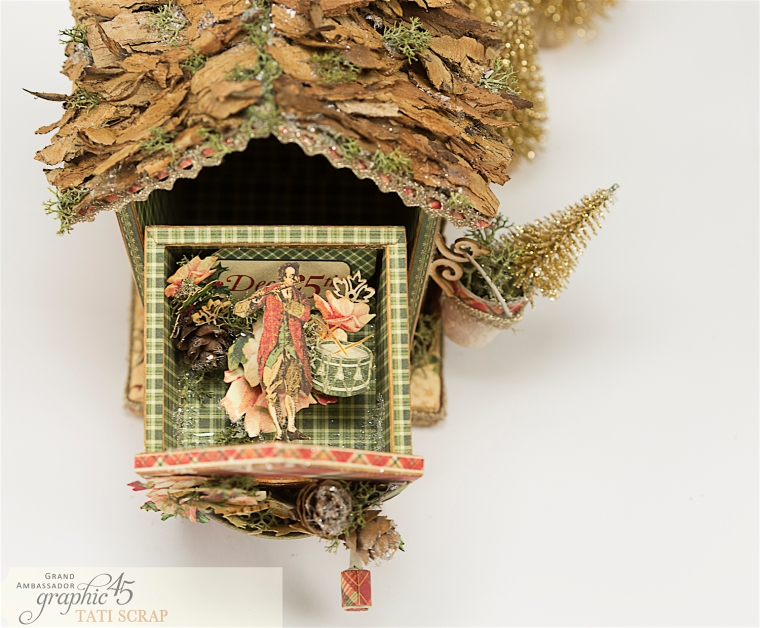 Tati, Music Bird House, Twelve Days of Christmas, Product by Graphic 45, Photo 17
