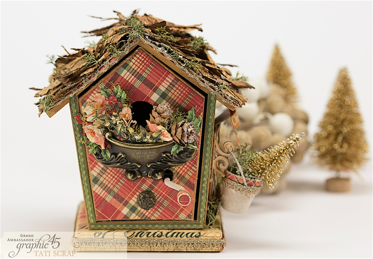 Tati, Music Bird House, Twelve Days of Christmas, Product by Graphic 45, Photo 20