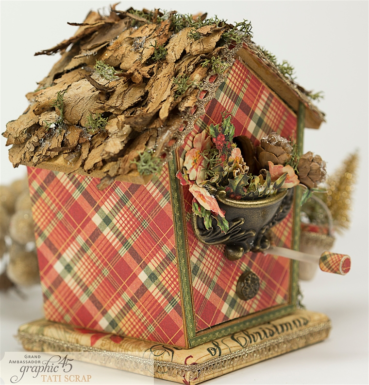 Tati, Music Bird House, Twelve Days of Christmas, Product by Graphic 45, Photo 8