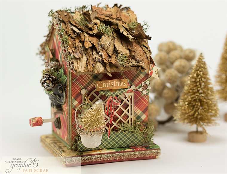 Tati, Music Bird House, Twelve Days of Christmas, Product by Graphic 45, Photo 9
