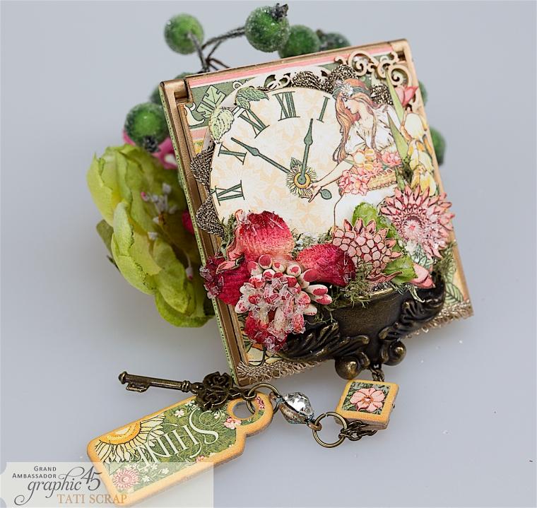tati, vintage mirror, garden goddess product by graphic 45, photo 3