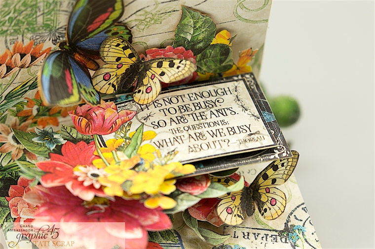 tati, flutter pop up card, product by graphic 45, photo 5