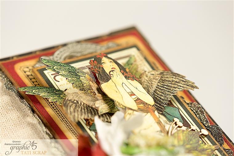 Tati, Album, Steampunk Debutante Deluxe Collector's Edition, Pruduct by Graphic 45, Photo 1c