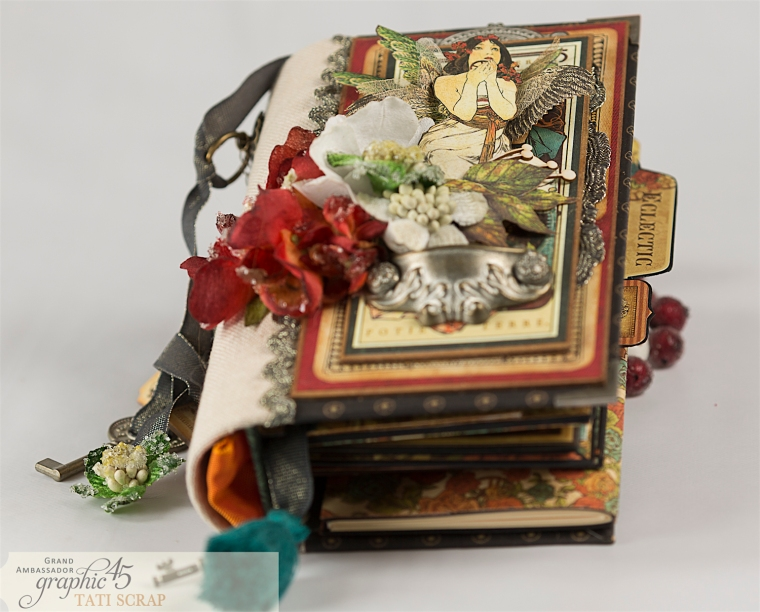 Tati, Album, Steampunk Debutante Deluxe Collector's Edition, Pruduct by Graphic 45, Photo 2