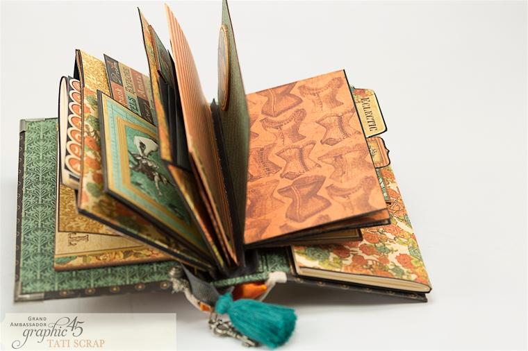 Tati, Album, Steampunk Debutante Deluxe Collector's Edition, Pruduct by Graphic 45, Photo 20