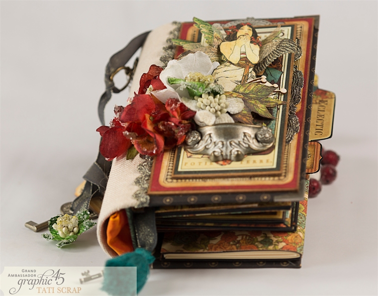 Tati, Album, Steampunk Debutante Deluxe Collector's Edition, Pruduct by Graphic 45, Photo 3