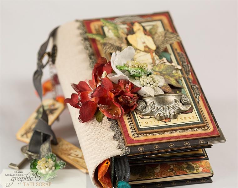 Tati, Album, Steampunk Debutante Deluxe Collector's Edition, Pruduct by Graphic 45, Photo 4