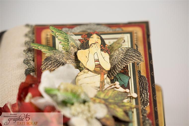 Tati, Album, Steampunk Debutante Deluxe Collector's Edition, Pruduct by Graphic 45, Photo 5