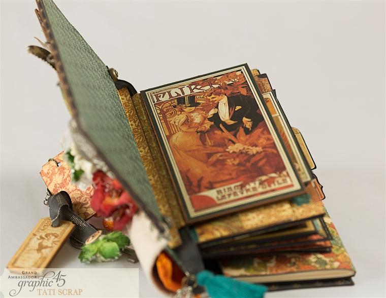 Tati, Album, Steampunk Debutante Deluxe Collector's Edition, Pruduct by Graphic 45, Photo 8
