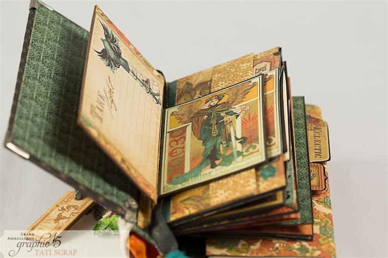 Tati, Album, Steampunk Debutante Deluxe Collector's Edition, Pruduct by Graphic 45, Photo 9
