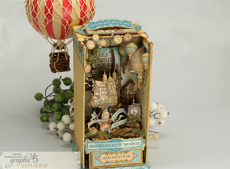 Tati, Imagine, Music Box, Product by Graphic 45, Photo 10