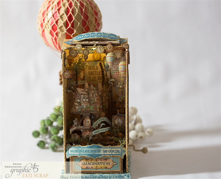 Tati, Imagine, Music Box, Product by Graphic 45, Photo 11