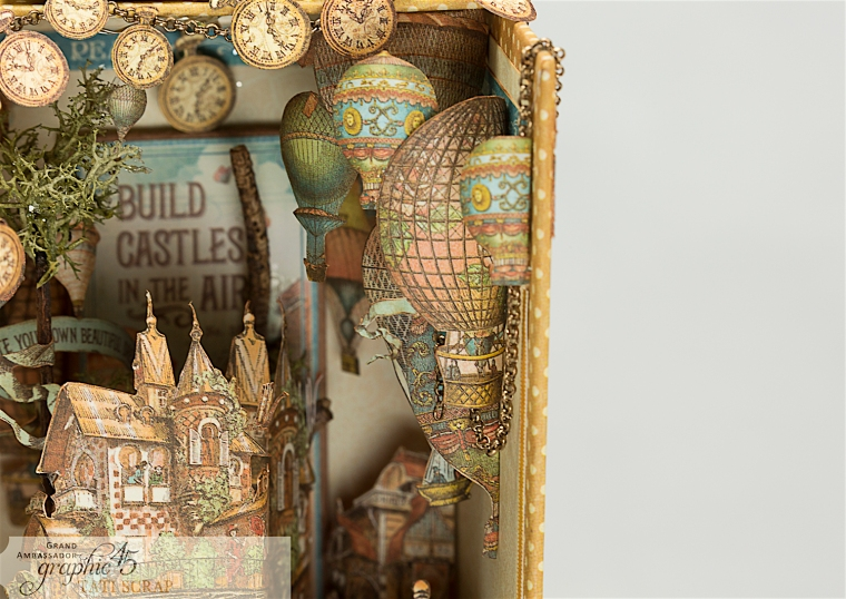 Tati, Imagine, Music Box, Product by Graphic 45, Photo 13