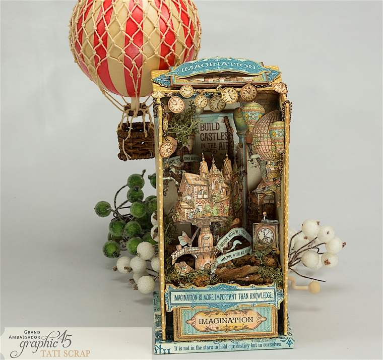Tati, Imagine, Music Box, Product by Graphic 45, Photo 16