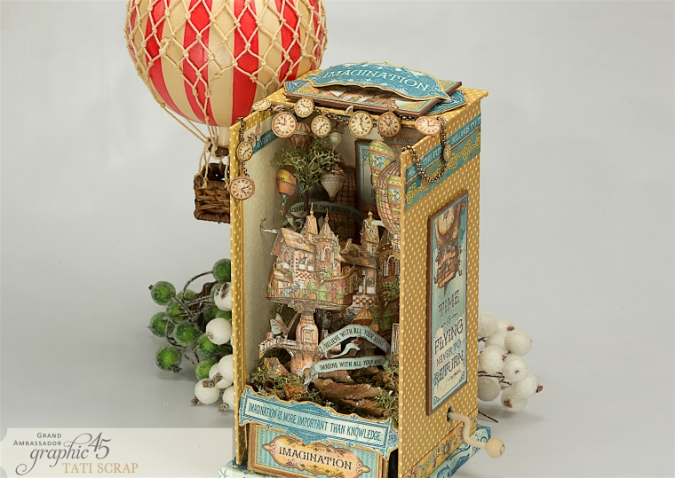 Tati, Imagine, Music Box, Product by Graphic 45, Photo 9