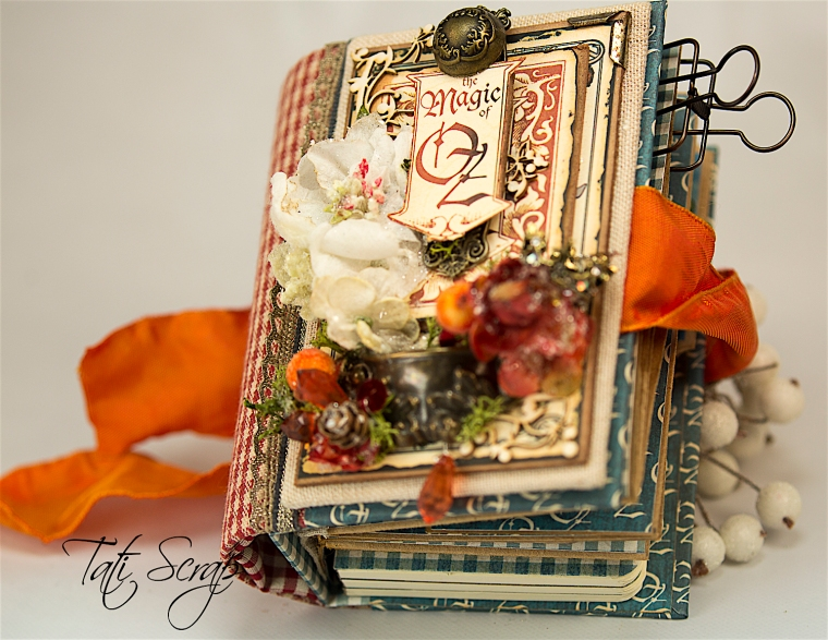 Tati Scrap, The Magic Of Oz, Mini Album, Photo 0