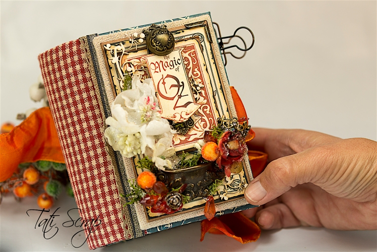 Tati Scrap, The Magic Of Oz, Mini Album, Photo 0,1