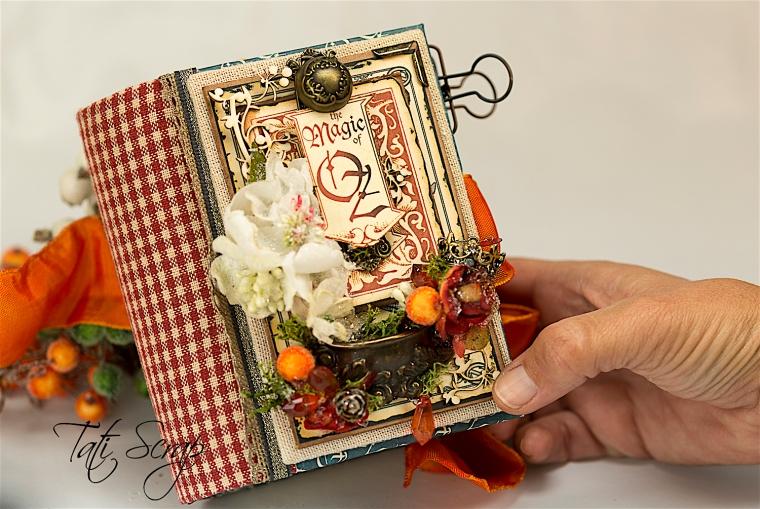 Tati Scrap, The Magic Of Oz, Mini Album, Photo 0,1