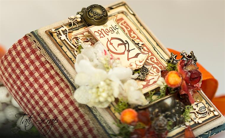 Tati Scrap, The Magic Of Oz, Mini Album, Photo 1