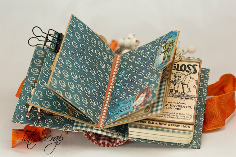 Tati Scrap, The Magic Of Oz, Mini Album, Photo 10