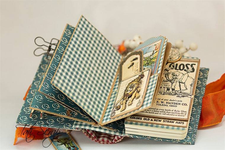 Tati Scrap, The Magic Of Oz, Mini Album, Photo 11