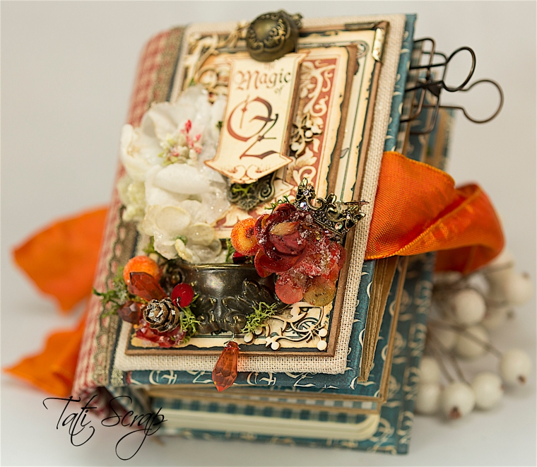 Tati Scrap, The Magic Of Oz, Mini Album, Photo 15