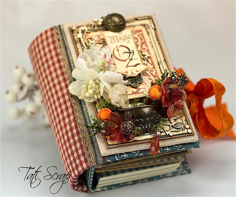 Tati Scrap, The Magic Of Oz, Mini Album, Photo 2