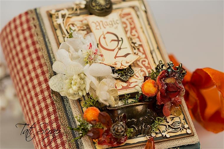Tati Scrap, The Magic Of Oz, Mini Album, Photo 5