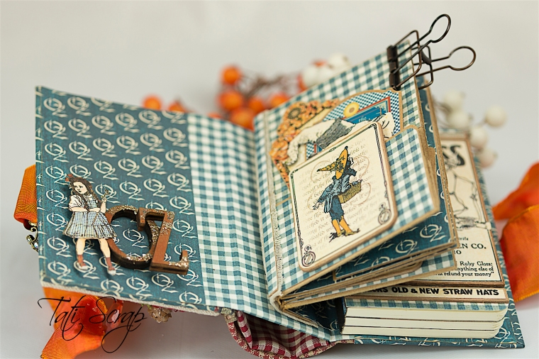 Tati Scrap, The Magic Of Oz, Mini Album, Photo 6