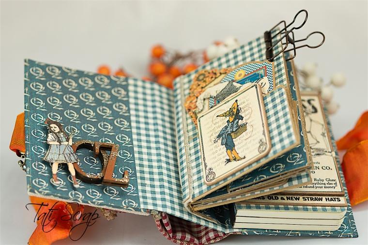 Tati Scrap, The Magic Of Oz, Mini Album, Photo 6