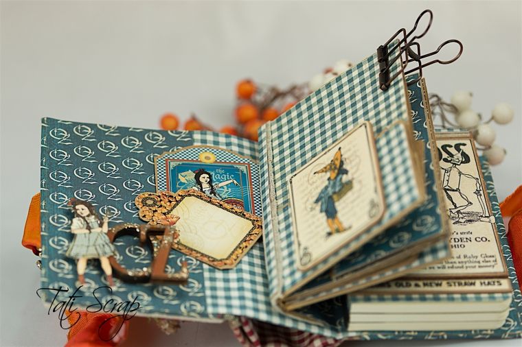 Tati Scrap, The Magic Of Oz, Mini Album, Photo 7