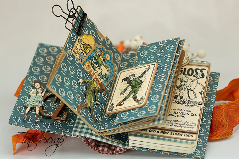 Tati Scrap, The Magic Of Oz, Mini Album, Photo 8