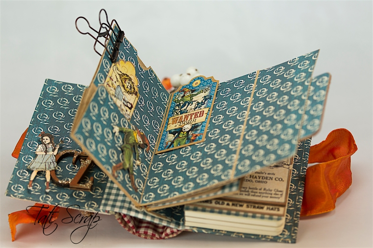 Tati Scrap, The Magic Of Oz, Mini Album, Photo 9